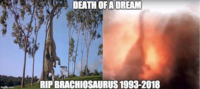 JWFK Brachiosaurus Death