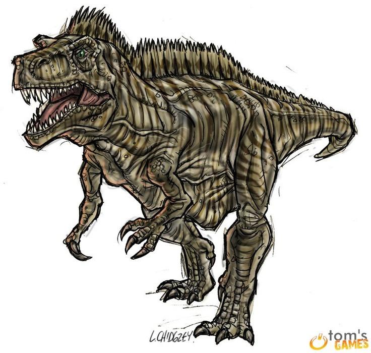 Acrocanthosaurus by Strikerprime
