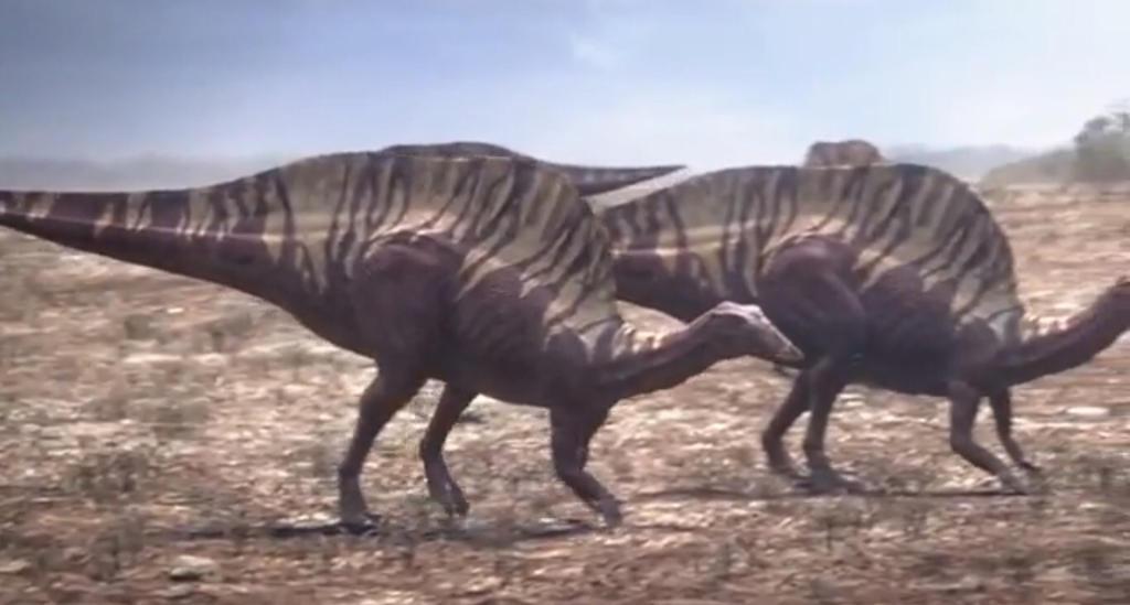 Ouranosaurus by Strikerprime