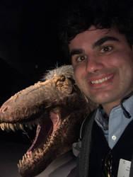 AMNH T-Rex selfie