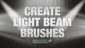 Light Beam Brushes Tutorial