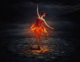 Dancing in Flames by FakeFebruary