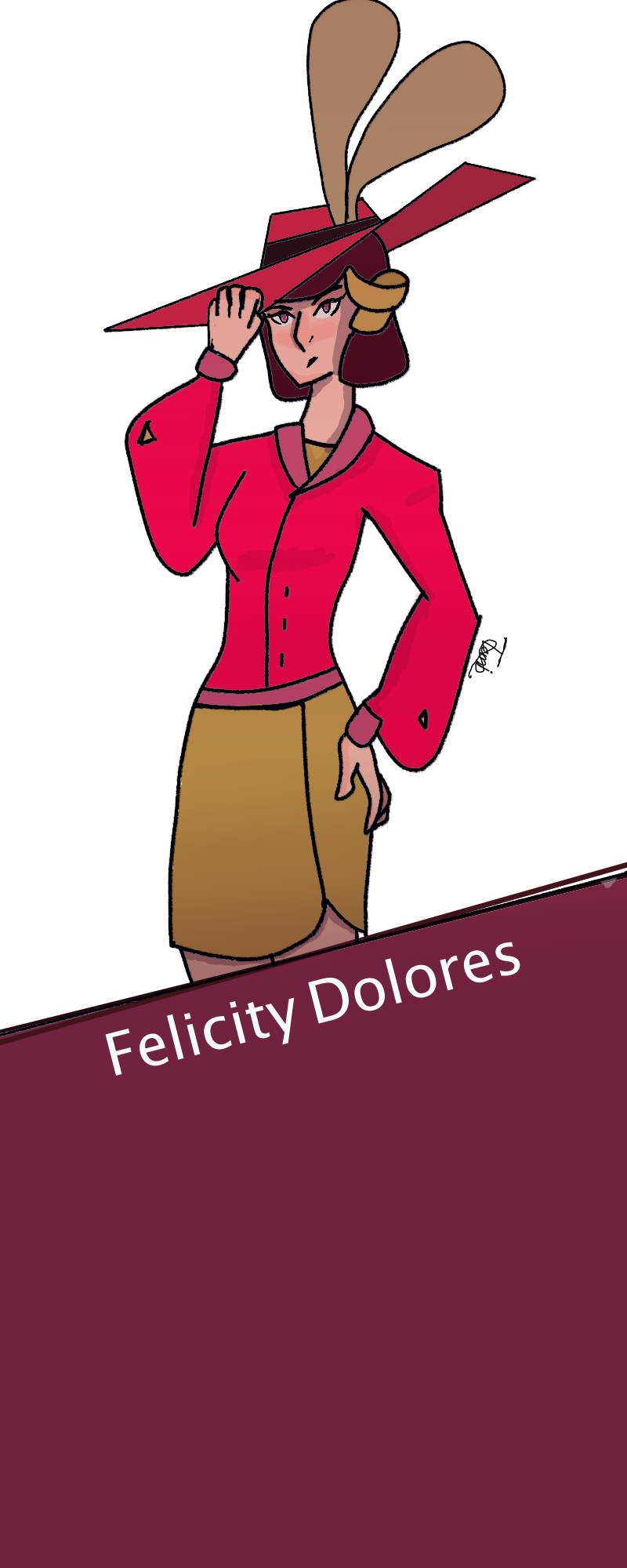 Felicity without her info