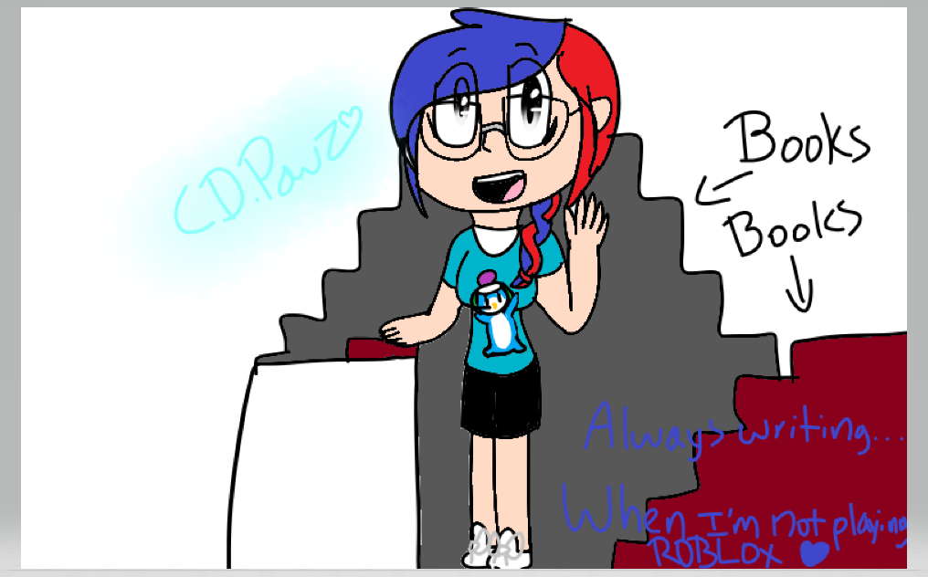 Random ROBLOX player drawing by CookieDrawzPawz on DeviantArt