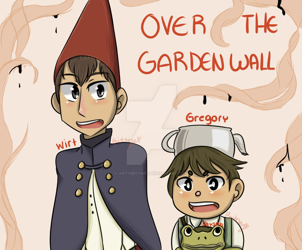 Over The Garden Wall Wirt Gregory And Jayson By Artybritney On Deviantart