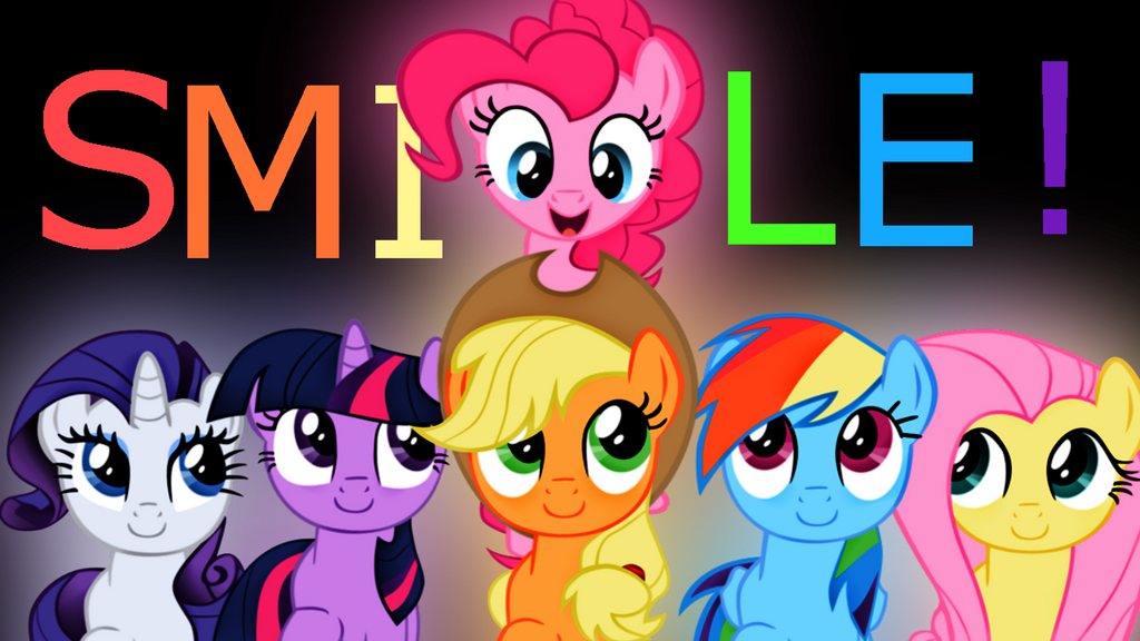 Smile wallpaper by PinkiePie678