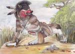 Werewolf Sioux Hunter