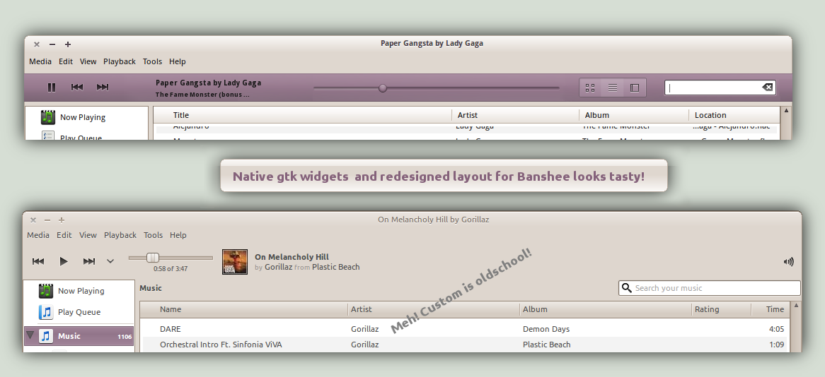 Banshee more natively themed by conorsulli