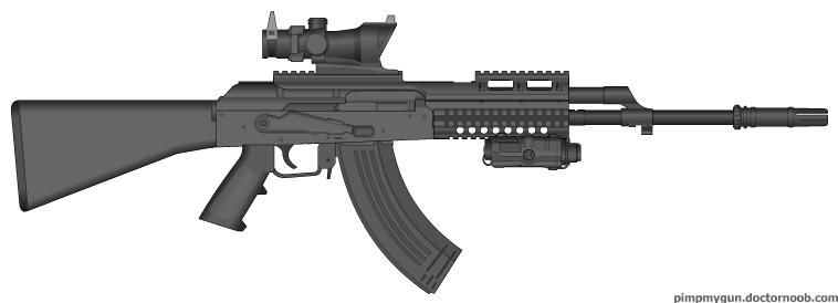 (New) AK-47 Next Gen. by JFKennedyLancer on DeviantArt