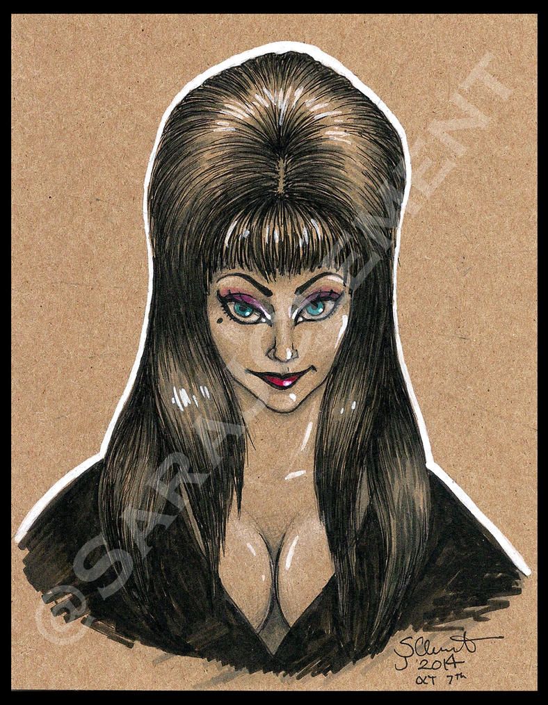 Elvira, Mistress of the Dark by TabathaZee
