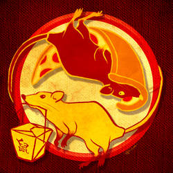 Chinese New Year: Year of the Pizza Rat