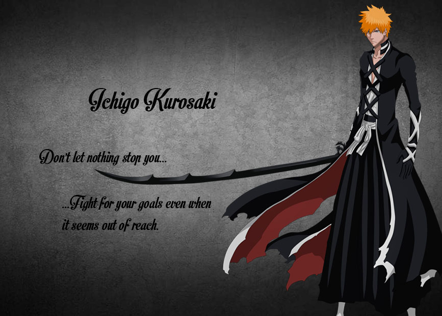 Lessons of Anime - Ichigo Kurosaki by The-Silver-Kinq