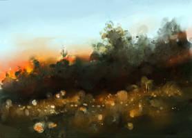 september dusk by GreenSprite
