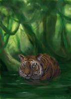 hmm... tiger? by GreenSprite