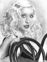 Christina Aguilera by mickaelangelo