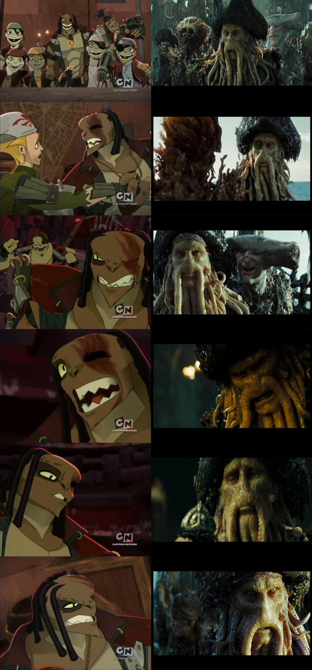 Scabulous vs. Davy Jones by Denielstein