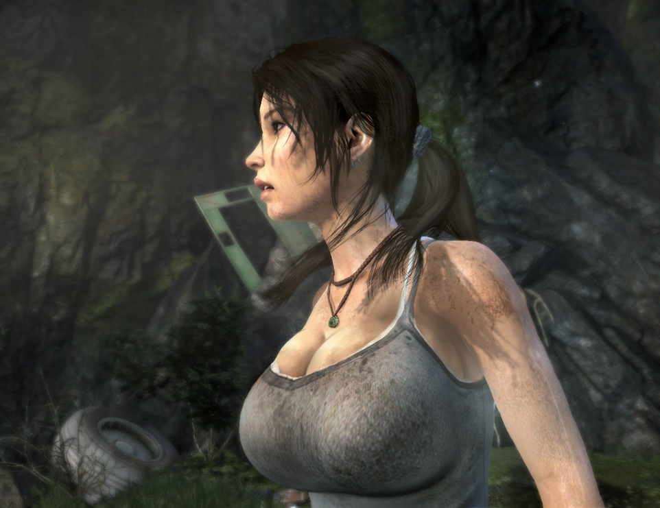 Lara Croft Big Tits 22