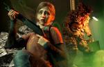 Ellie vs Bloater by midgard229