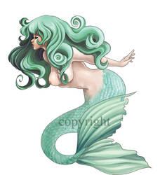 Mermaid Tattoo by sjf9687