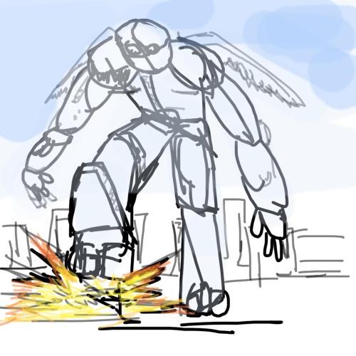 Scrap Sketch by demondeath1