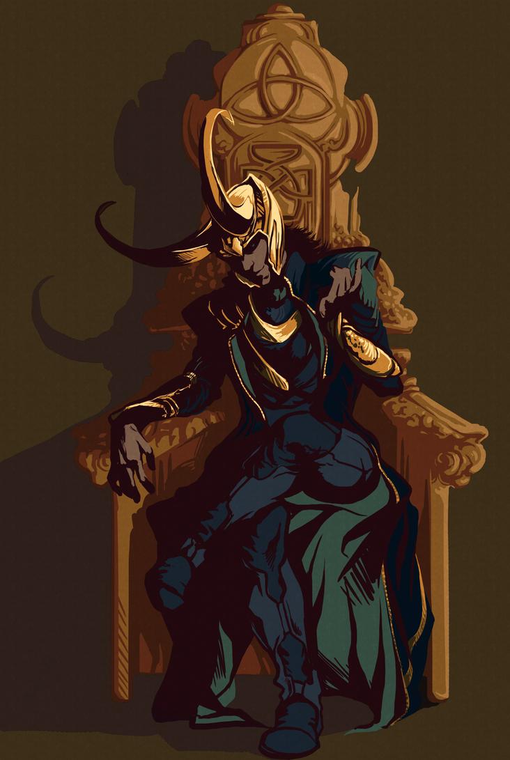 Loki Laufeyson by NoSafeHaven on DeviantArt