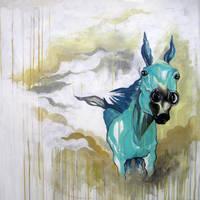 Teal Horse