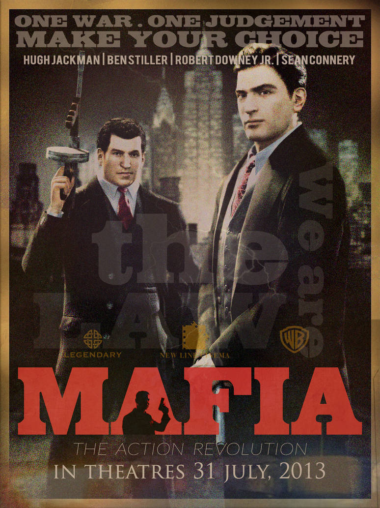 MAFIA Movie Poster in Photoshop CS6 by spectrumartworks on