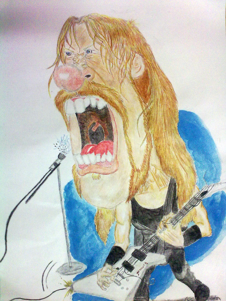 james hetfield by MinaElvis