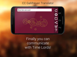 Let's talk to Time Lords! Gallifreyan Translator by gumex