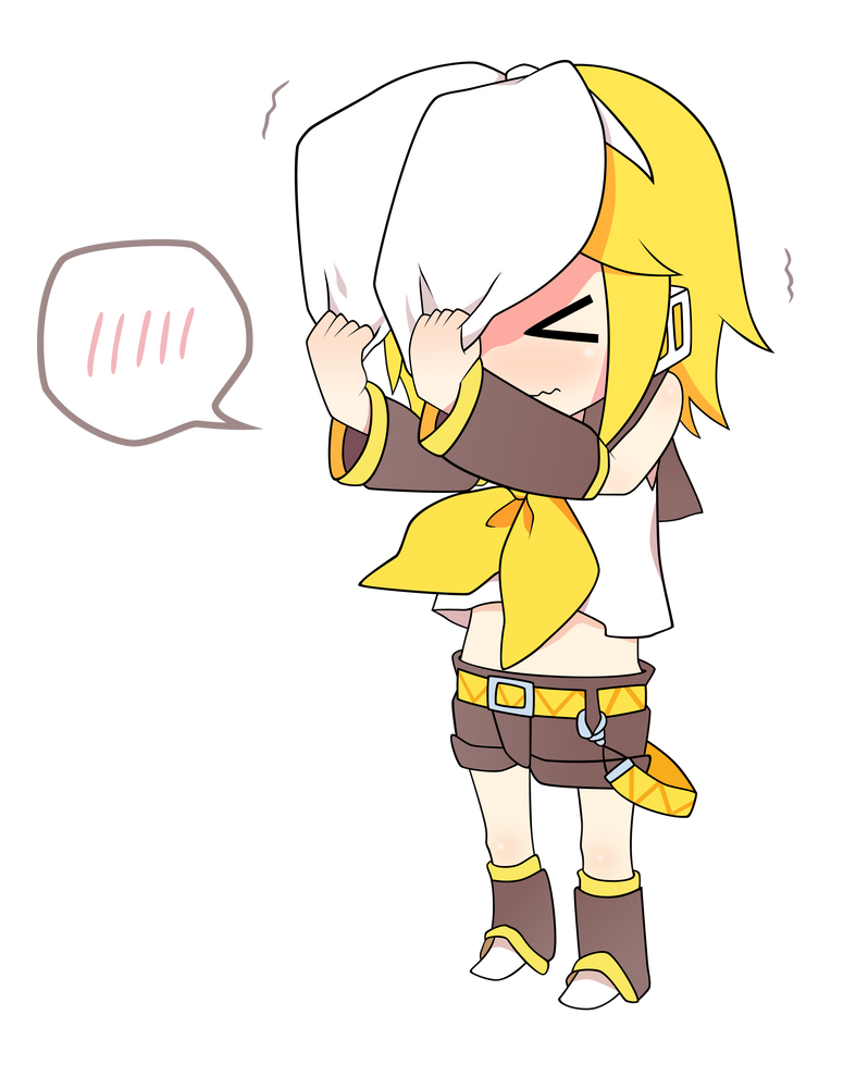Vocaloid Rin Chibi Pictures Images amp Photos  Photobucket