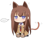 Steins Gate - Makise Kurisu (Chibi)