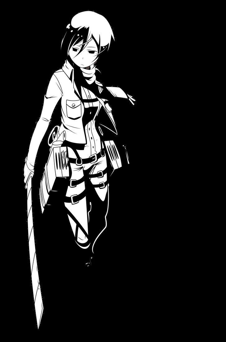 shingeki no kyojin mikasa ackerman by johnprestongc manga anime    Shingeki No Kyojin Mikasa Manga