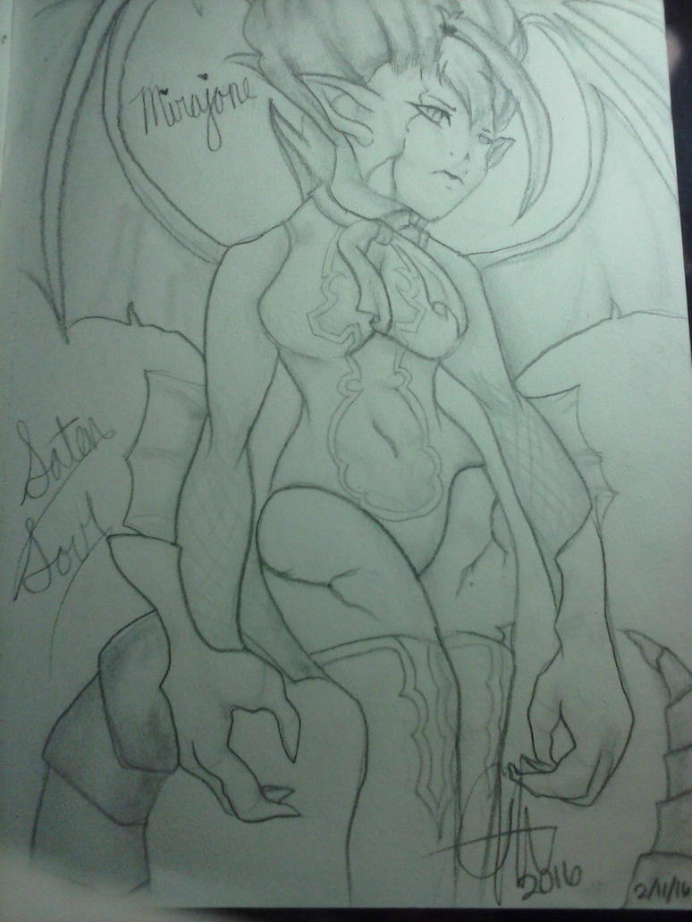 Fairy Tail Mirajane by Un-explainable