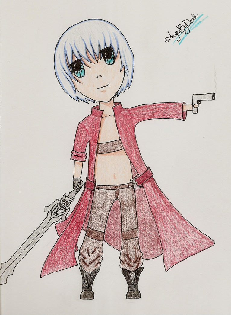 Chibi Comish .:Dante:. by Angelbydeath