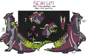 Schism Reference Sheet