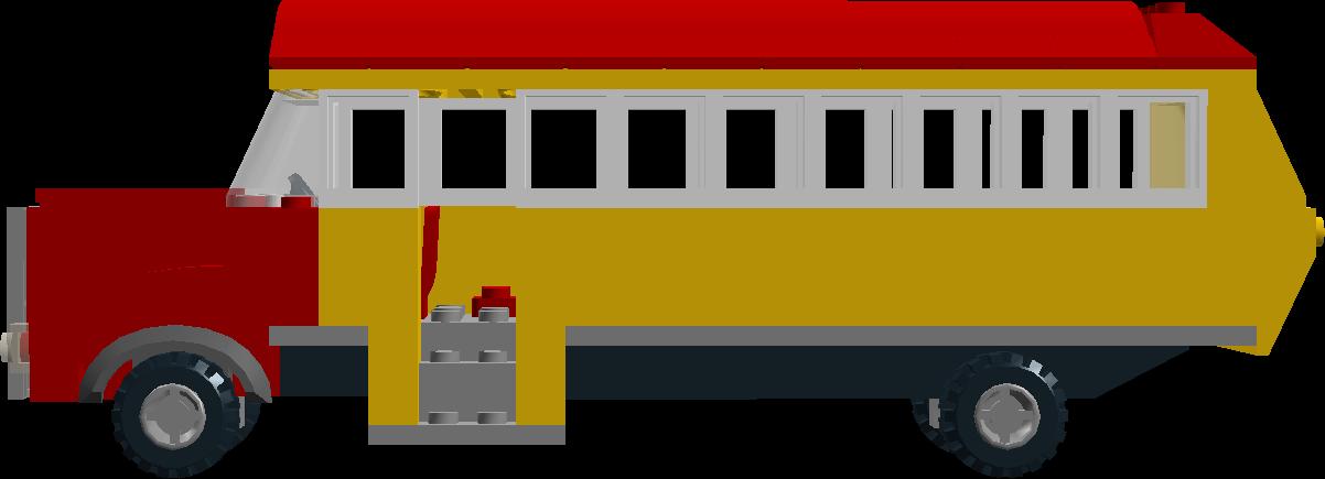 Lego Samoa Bus Left Side by MasinaT on DeviantArt