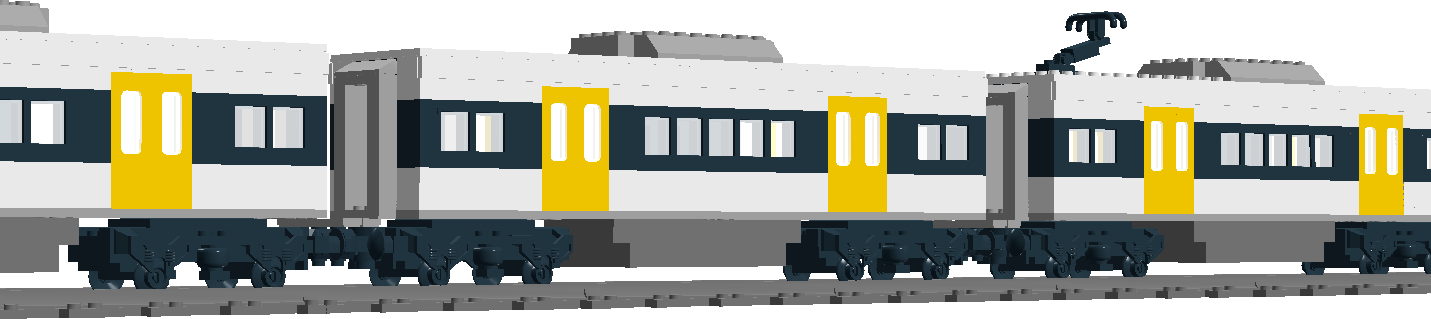 Lego queensland rail ngr middle