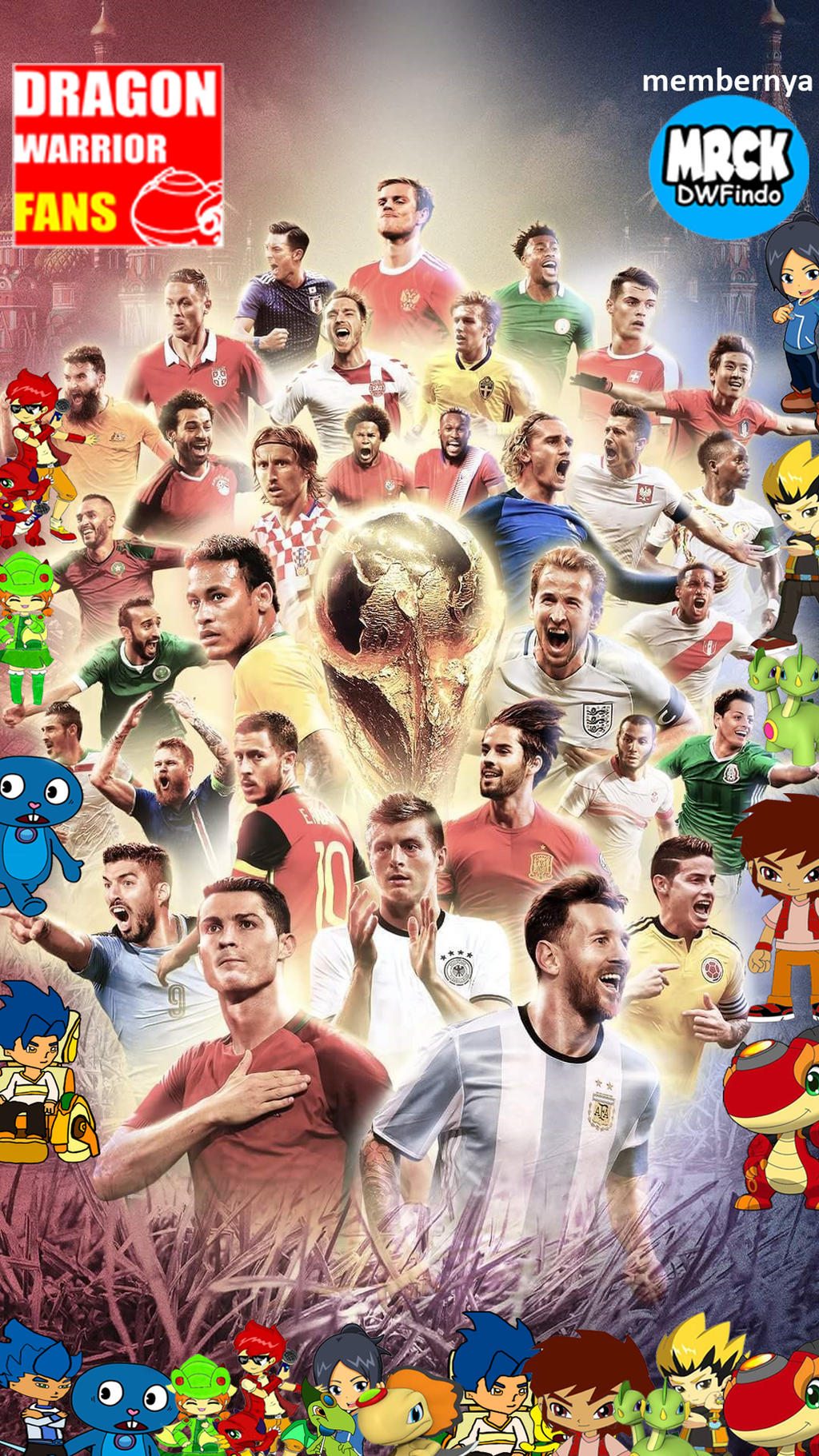 Wallpaper Smartphone Fifa World Cup 2018 By R3zky On Deviantart