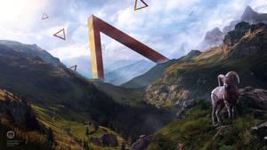 Uncanny Valley - Desktopography 2017