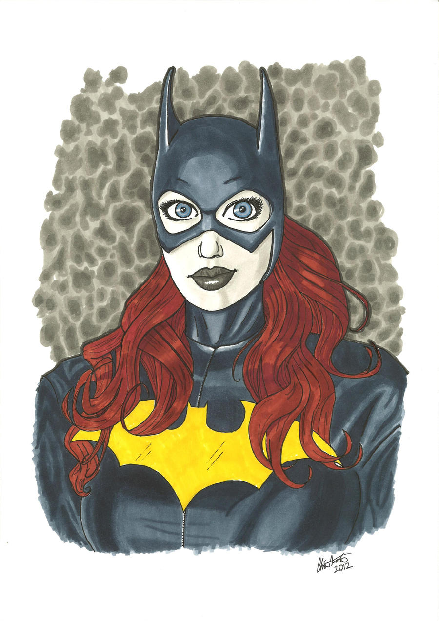 Barbara Gordon Batgirl by Hum3Bogart