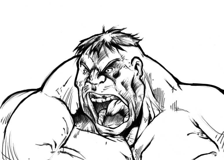 Hulk ink 2 by fdrawer