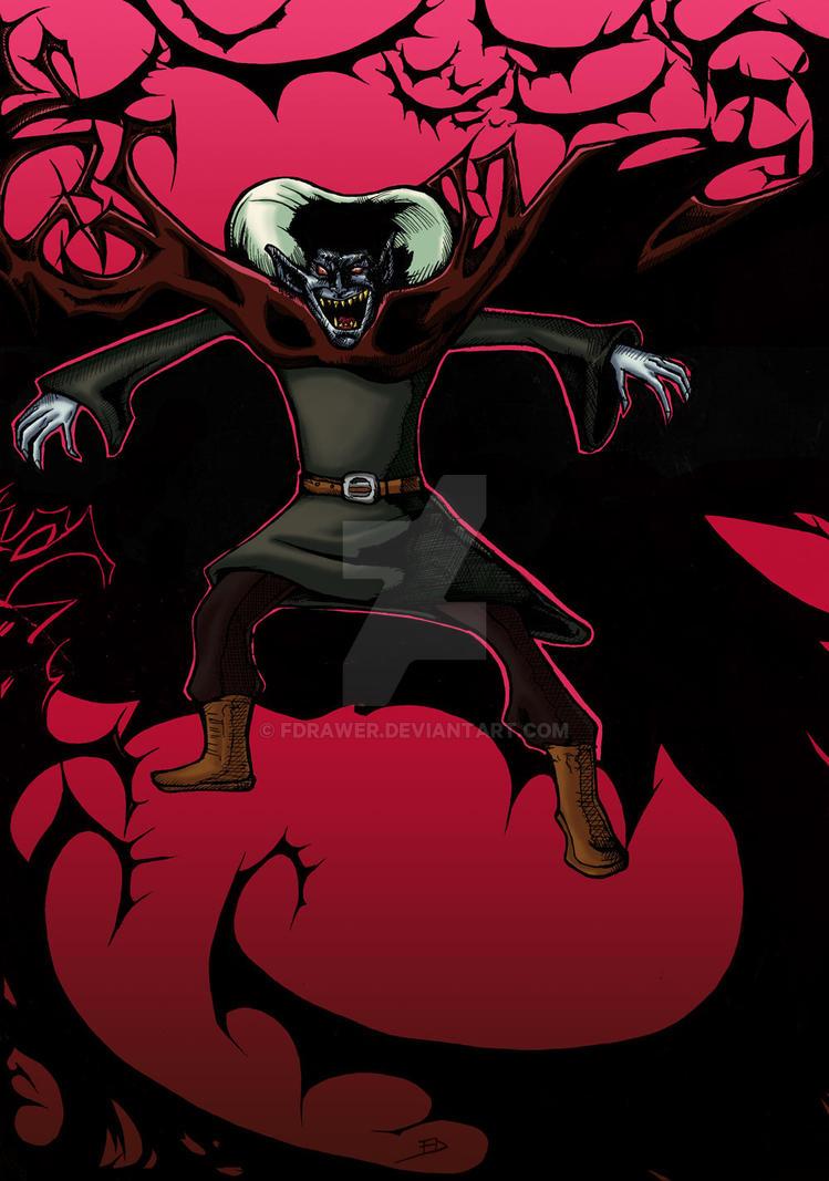Dracula by fdrawer