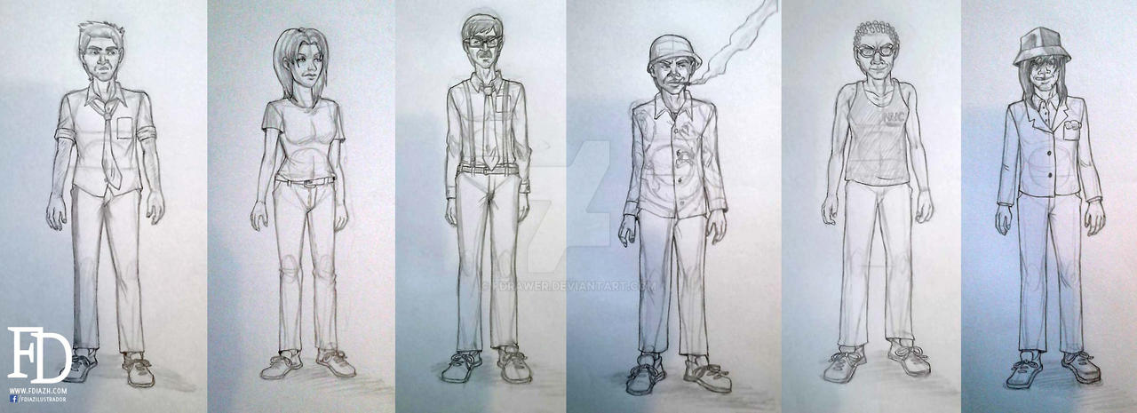 Redesign of character of Mafiosos by fdrawer