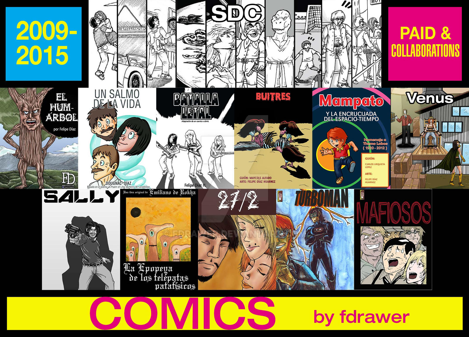 Comics 2009-2015 by fdrawer