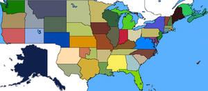Alternate History USA MAP