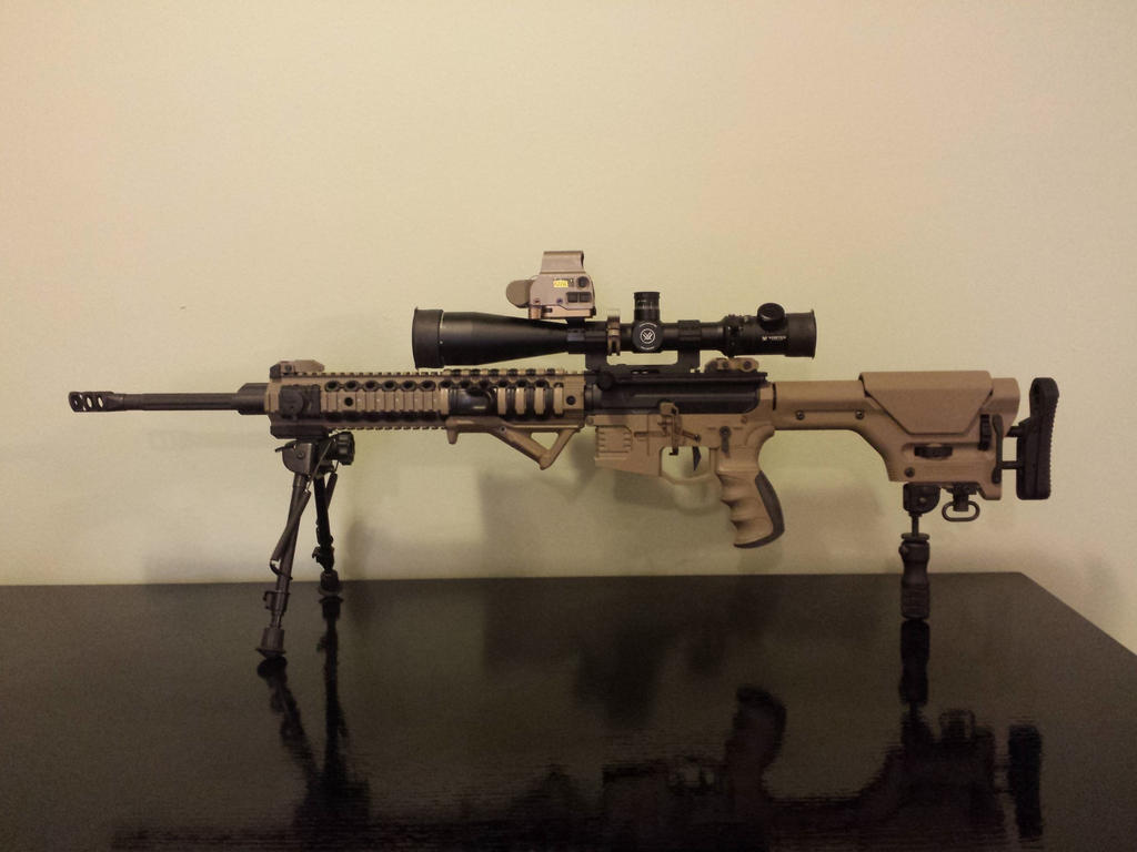 AR-15 Sniper Rifle 5.56, Viper Scope, Eotech by ...