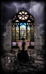 Angel of Resurrection by halaquinn-arcadias
