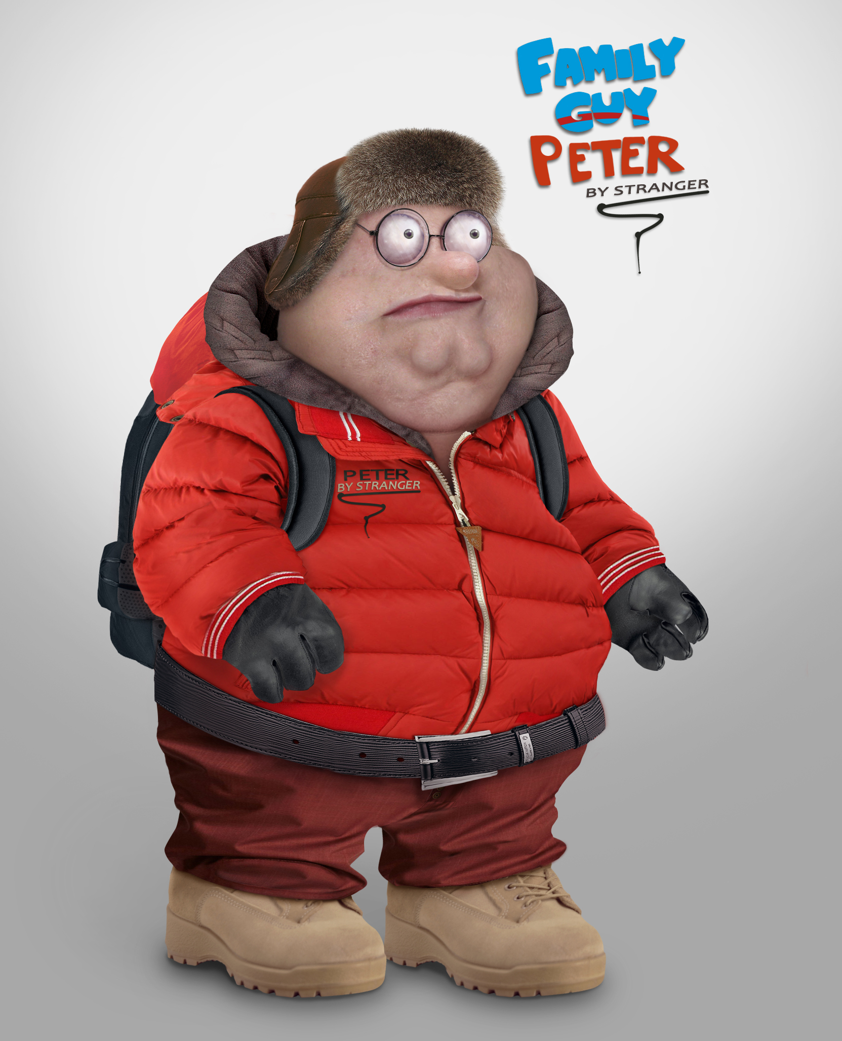 Family Guy Peter Eats Rice Cake