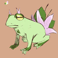 Frog OC by Mejibi