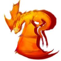 Dragon by Mejibi